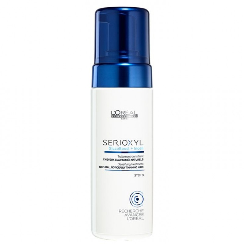 Loreal Serioxyl GlucoBoost + Incell Espuma Cabellos Naturales 125ml