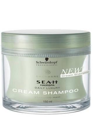 Schwarzkopf Seah Hairspa Cream Shampoo 150ml