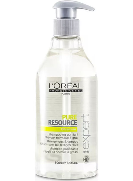Loreal Champú Pure Resource 500ml