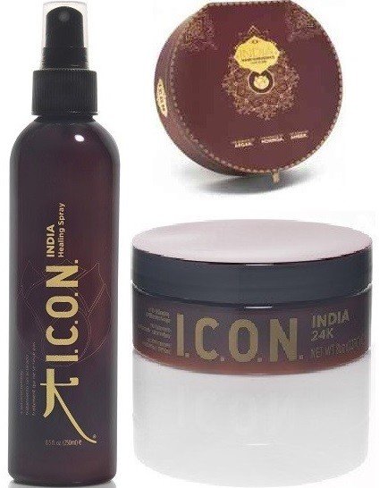 Icon Pack India: Healing Spray + Mascarilla 24k