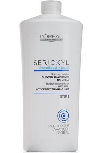 Loreal Serioxyl Glucoboost + Incell Acondicionador Cabellos Naturales 1000ml