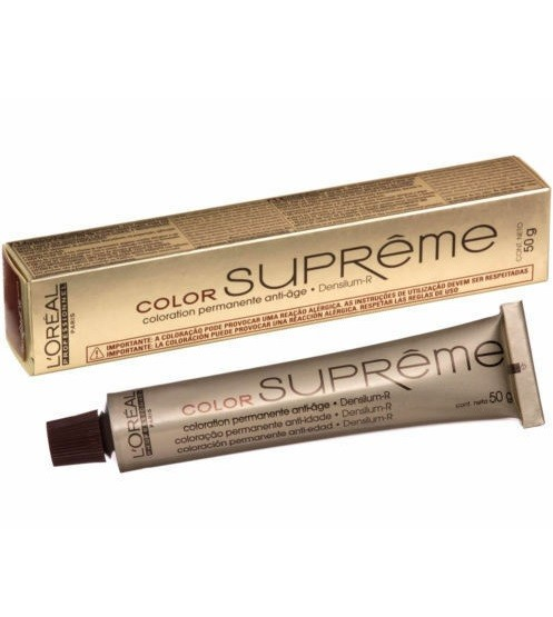 Tinte Loreal Color Supreme 7.41 Cobrizo Barnizado 50ml