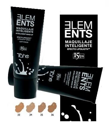 Tahe Elements Maquillaje inteligente E-36 - 35ml