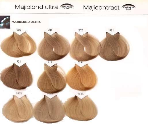 Tinte Majirel 10 1/2 34 Rubio muy claro pálido dorado cobrizo - L'Oréal 50ml