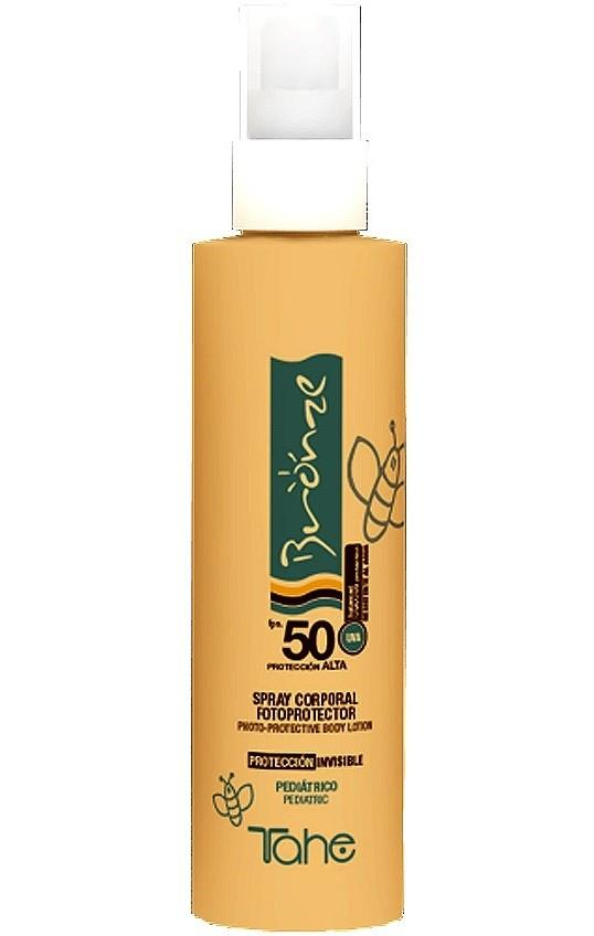 Tahe Bronze Spray corporal fotoprotector fps. 50 200 ml